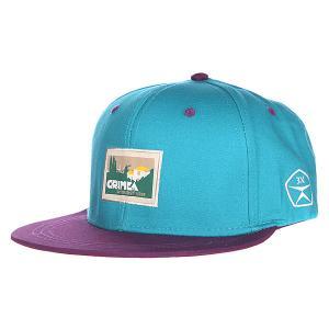 Бейсболка  Крым Blue/Purple Запорожец. Цвет: голубой,фиолетовый