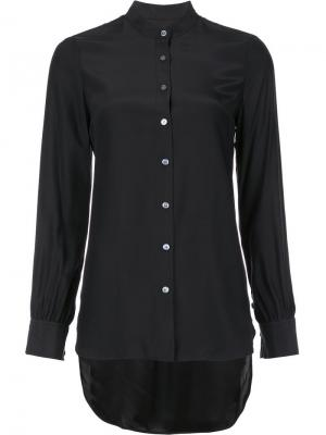 Рубашка на пуговицах Frame Denim. Цвет: чёрный