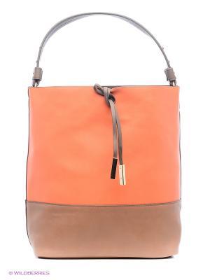 Сумка Parfois. Цвет: оранжевый, коричневый