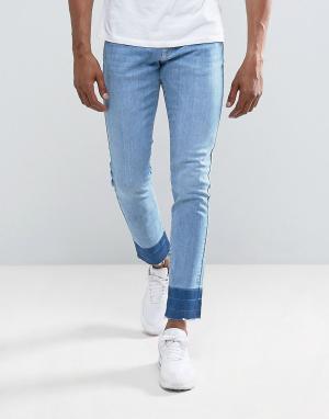 Brooklyn Supply Co. Узкие джинсы Co. Цвет: синий