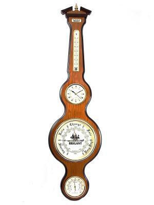 Часы-метеостанция BRIGANT. Цвет: светло-серый