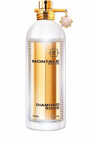 Парфюмерная вода Diamond Rose Бриллиантовая коллекция Montale. Цвет: бесцветный