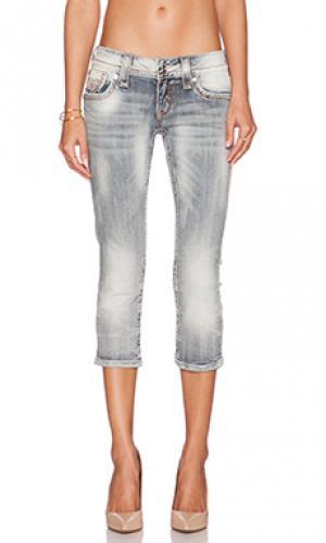 Укороченные джинсы jen Rock Revival. Цвет: none