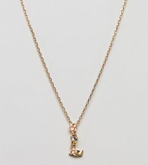 Bill Skinner Ожерелье с подвеской L. Цвет: золотой