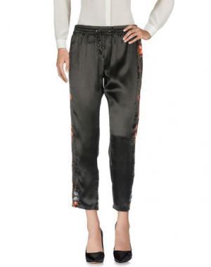 Повседневные брюки WALTER BAKER. Цвет: черный