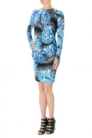 Платье-мини с принтом Peter Pilotto. Цвет: черный