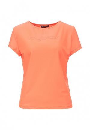 Футболка Byblos. Цвет: оранжевый