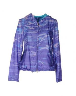 Куртка GEOSPIRIT. Цвет: фиолетовый