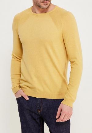 Джемпер Burton Menswear London. Цвет: желтый