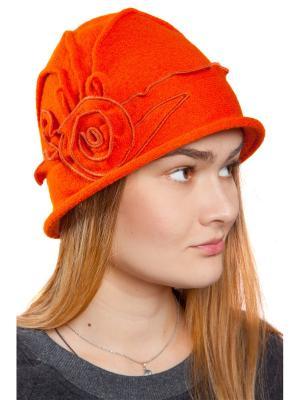 Шляпа женская Мона Three S. Цвет: рыжий