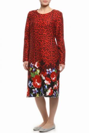 Платье Веста. Цвет: цветы