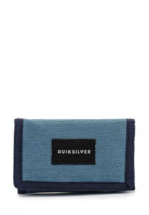Кошелек Quiksilver. Цвет: синий