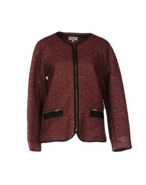 Куртка INTROPIA. Цвет: баклажанный