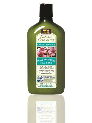 Кондиционер с маслом чайного дерева, 325 мл. Avalon Organics. Цвет: прозрачный