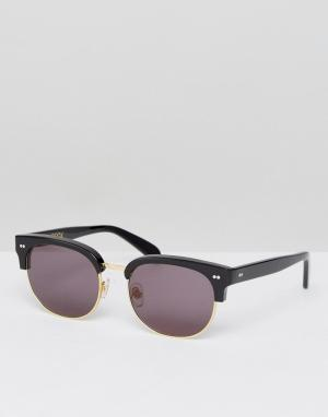 Wildfox Солнцезащитные очки Club House. Цвет: золотой