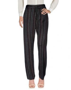 Повседневные брюки MARCO DE VINCENZO. Цвет: красно-коричневый