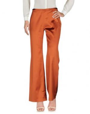 Повседневные брюки RENATO BALESTRA. Цвет: ржаво-коричневый