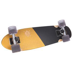 Скейт мини круизер  Blazer Gold/Black 7.1 x 26 (66 см) Globe. Цвет: желтый,черный