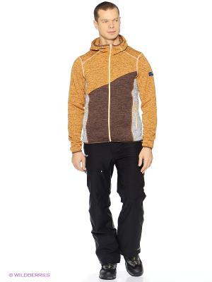 Куртка HALTI. Цвет: коричневый
