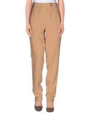 Повседневные брюки BELLEROSE. Цвет: верблюжий