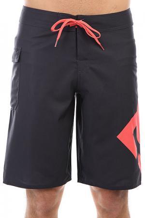 Шорты пляжные DC Lanai 22 Dark Indigo Shoes. Цвет: черный