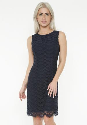 Платье Lussotico. Цвет: синий