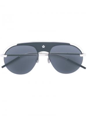 Солнцезащитные очки DIO(R)EVOLUTION Dior Eyewear. Цвет: металлический