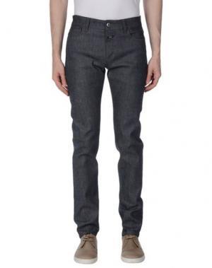 Джинсовые брюки CLOSED. Цвет: синий