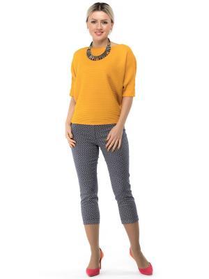 Кофточка BF COLLECTION. Цвет: оранжевый, горчичный, золотистый