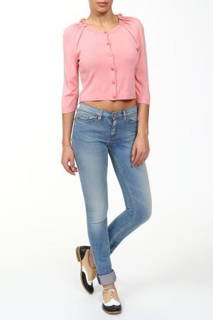 Болеро Moschino Cheap & Chic. Цвет: розовый