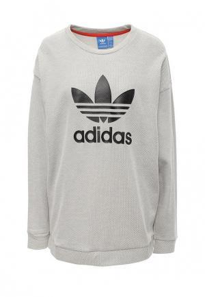 Свитшот adidas Originals. Цвет: серый