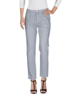 Джинсовые брюки RICH&ROYAL. Цвет: серый