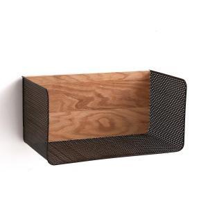 Этажерка Ordonato для рабочего кабинета AM.PM.. Цвет: металл черный/дуб