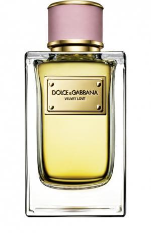 Парфюмерная вода Velvet Collection Love Dolce & Gabbana. Цвет: бесцветный