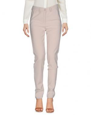 Повседневные брюки MIA SULIMAN. Цвет: бежевый