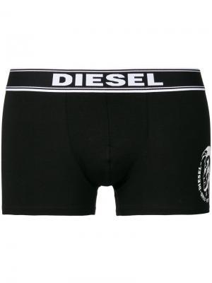Комплект из трех пар боксеров Diesel. Цвет: чёрный