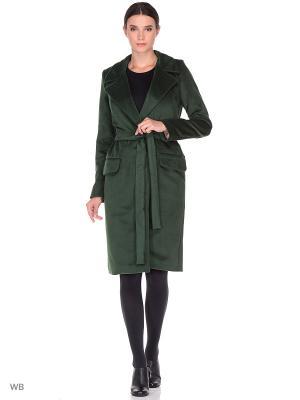 Пальто Культ платья BRACEGIRDLE. Цвет: темно-зеленый