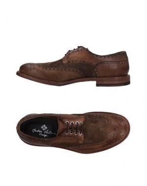 Обувь на шнурках ANDREA VENTURA FIRENZE. Цвет: хаки