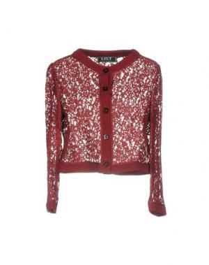 Пиджак LIST. Цвет: красно-коричневый
