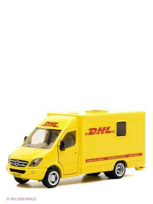 Почтовая машина DHL SIKU. Цвет: желтый