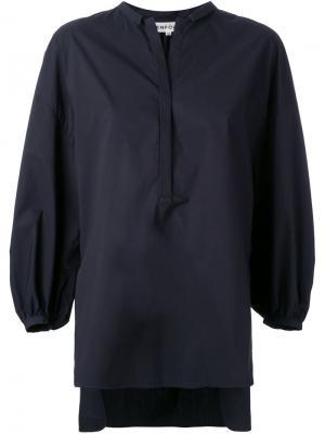 Блузка с епископскими рукавами Enföld. Цвет: чёрный