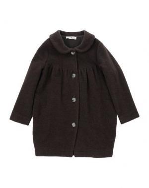 Пальто LE PETIT COCO. Цвет: темно-коричневый