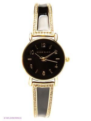 Часы ANNE KLEIN. Цвет: черный, золотистый