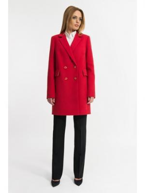 Пальто Gotti. Цвет: красный