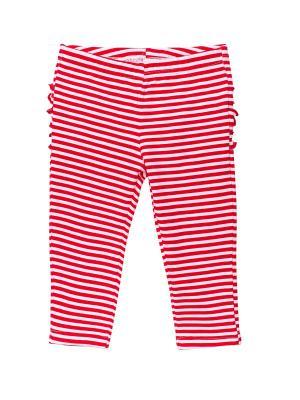 Лосины NinoMio. Цвет: красный, белый