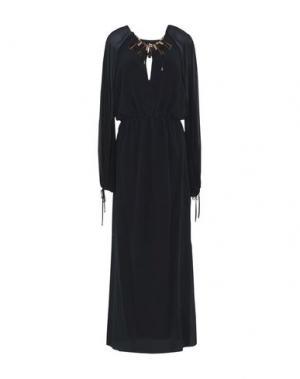 Длинное платье SPACE STYLE CONCEPT. Цвет: черный