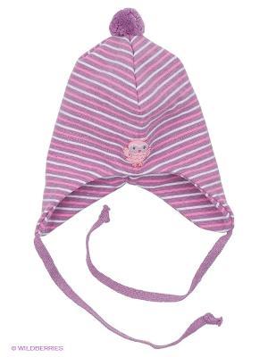 Шапка Kivat. Цвет: сиреневый, розовый, белый