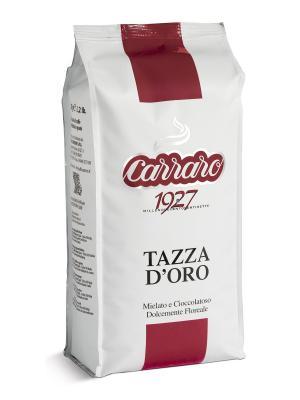 Tazza DOro 1 кг кофе в зернах CARRARO. Цвет: коричневый