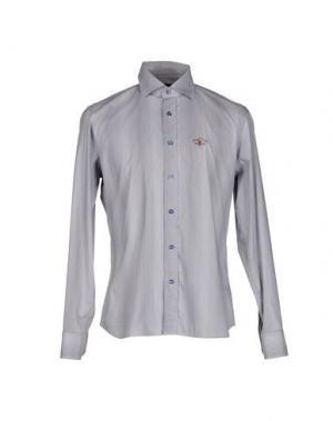 Pубашка COOPERATIVA PESCATORI POSILLIPO. Цвет: темно-коричневый