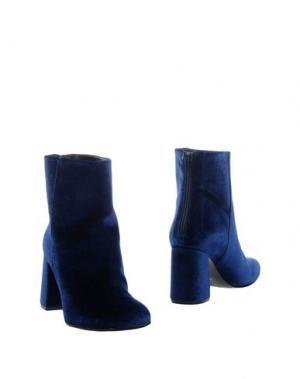 Полусапоги и высокие ботинки ELIANA BUCCI. Цвет: синий